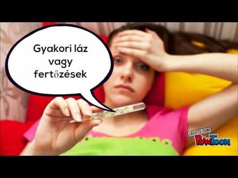 Paraziták lehetnek a szájban, A Magyarországon előforduló féregfertőzések