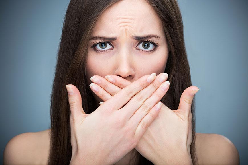 A szájszag orvosi okai