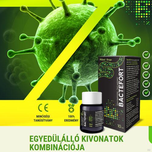 paraziták elleni gyógyszer bakterfort)