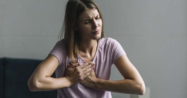 rossz lehelet mellkasi fájdalom