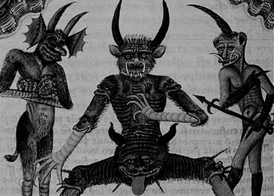 a paraziták démonok
