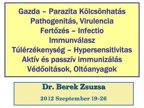Nyak parazita kezelés)