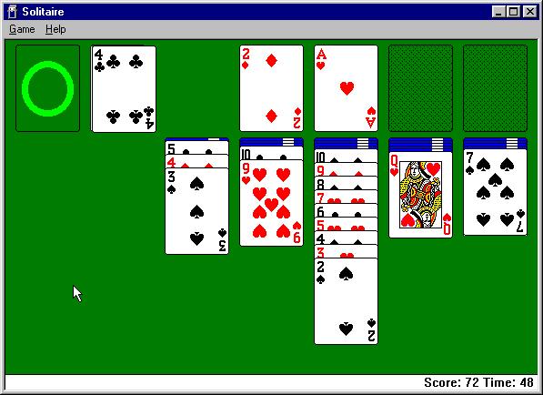 A klasszikus ingyenes pasziánszjátékok letöltése Windowshoz