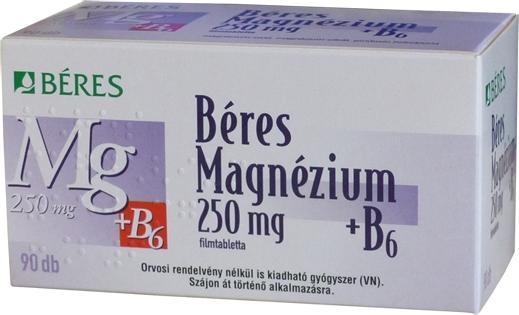gyógyszerek a magnézium növelésére a szervezetben