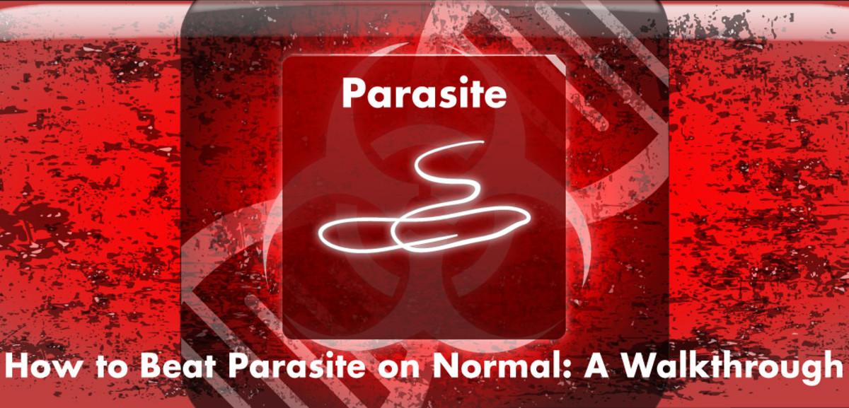 parazita áthaladás